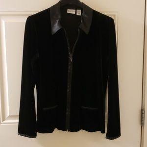 Chico's black blouse